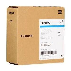 Cartus cerneala Canon PFI-307C, cyan, capacitate 330ml