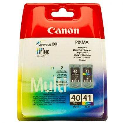 Cartus cerneala Canon PG-40 + CL-41, multipack (black, color)