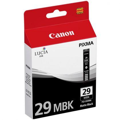 Cartus cerneala Canon PGI-29MBK, matte black, pentru Pixma Pro-1.