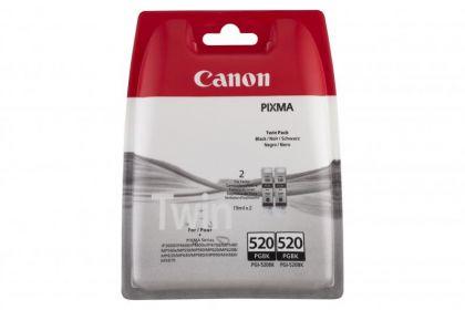 Cartus cerneala Canon PGI-520BK, black, twin pack