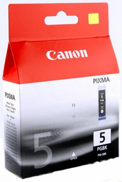 Cartus cerneala Canon PGI-5BK, black, twin pack