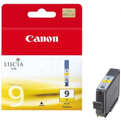 Cartus cerneala Canon PGI-9Y, yellow, pentru Canon IX7000