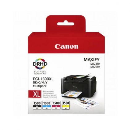 Cartus cerneala Canon PGI1500XLMULTI, multipack, Dual Resistant High Density