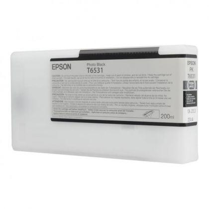 Cartus cerneala Epson T653100, photo black, capacitate 200ml