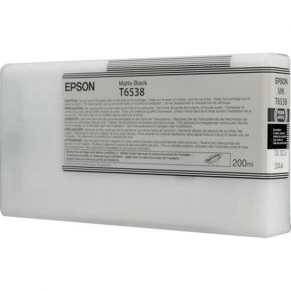 Cartus cerneala Epson T653800, matte black, capacitate 200ml