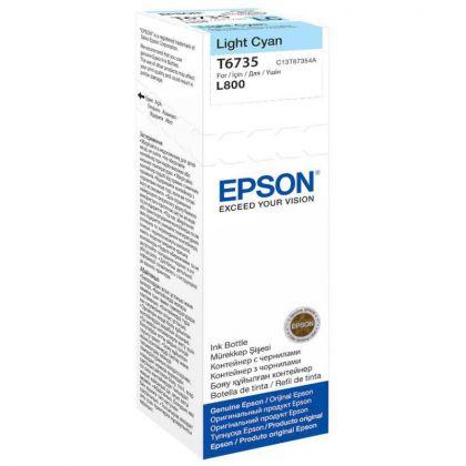 Cartus cerneala Epson T67354, light cyan, capacitate 70ml