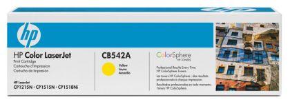 CARTUS TONER YELLOW NR.125A CB542A 1,4K SN ORIGINAL HP LASERJET CP1215