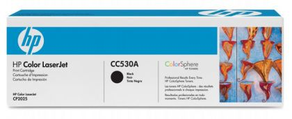 CARTUS TONER BLACK NR.304A CC530A 3,5K SN ORIGINAL HP LASERJET CP2025
