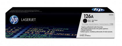 CARTUS TONER BLACK NR.126A CE310A 1,2K SN ORIGINAL HP LASERJET PRO CP1025