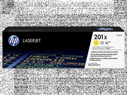 CARTUS TONER YELLOW NR.201X CF402X 2,3K SN ORIGINAL HP LASERJET PRO M252N