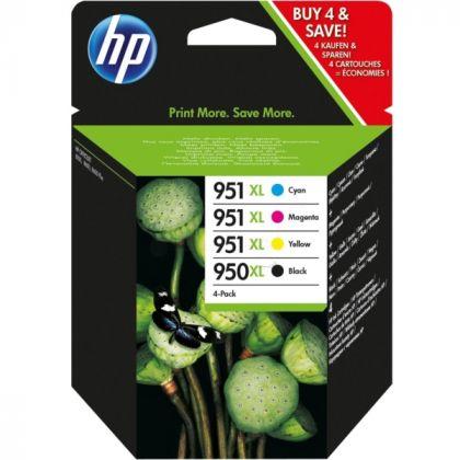COMBO PACK NR.950XL BLACK+NR.951XL CMY C2P43AE ORIGINAL HP OFFICEJET PRO 8100 N811A