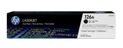 DUAL PACK CARTUS TONER NR.126A CE310AD 2X1,2K ORIGINAL HP LASERJET PRO CP1025