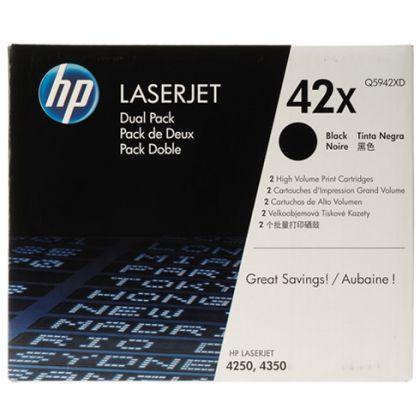 DUAL PACK CARTUS TONER NR.42X Q5942XD 2X20K ORIGINAL HP LASERJET 4250