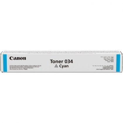 Toner Canon 034C, cyan, capacitate 7300 pagini