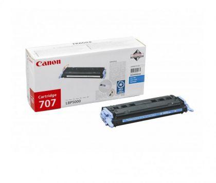 Toner Canon CRG707C, cyan, capacitate 2000 pagini
