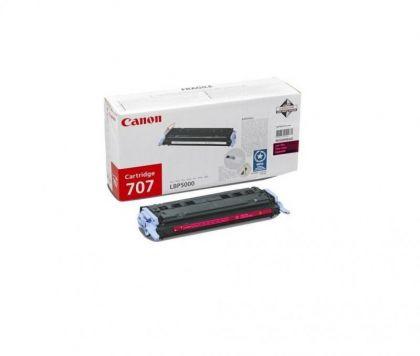 Toner Canon CRG707M, magenta, capacitate 2000 pagini