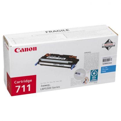 Toner Canon CRG711C, cyan, capacitate 6000 pagini