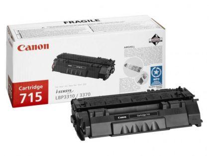 Toner Canon CRG715, black, capacitate 3000 pagini