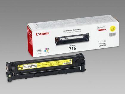 Toner Canon CRG716Y, yellow, capacitate 1500 pagini