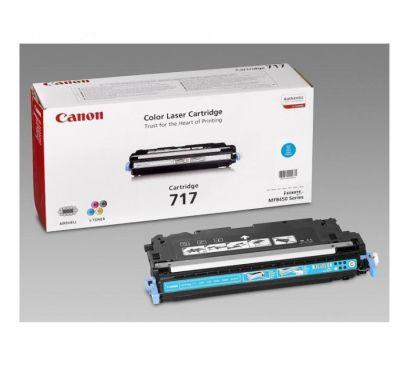 Toner Canon CRG717C, cyan, capacitate 4000 pagini