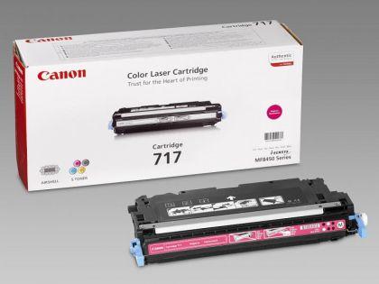 Toner Canon CRG717M, magenta, capacitate 4000 pagini