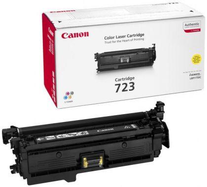 Toner Canon CRG723Y, yellow, capacitate 8500 pagini