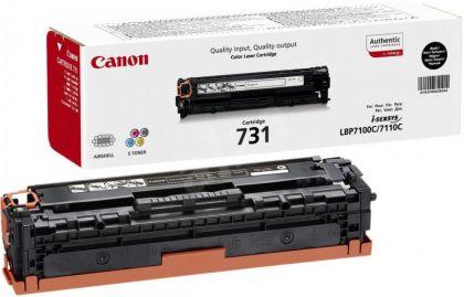 Toner Canon CRG731B, black, capacitate 1400 pagini