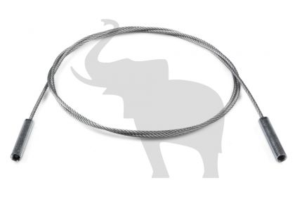 CABLU ASIGURARE CU BUCSE FILETATA CARUCIOR PLAFON (L=2125 mm)