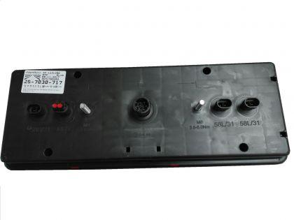 LAMPA STOP EUROPOINT III, STG.Full-LED , SML 4x2 pin AMP Schmitz