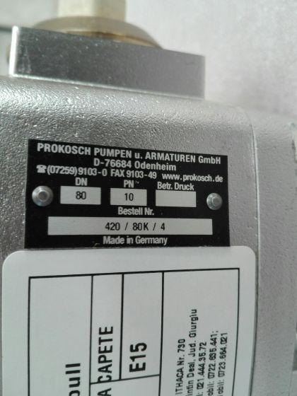 ROBINET CU BILA DN80