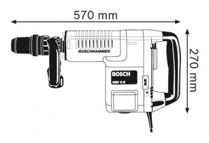 Ciocan demolator SDS-max GSH 11 E