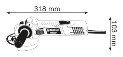 Polizor unghiular GWS 7-115