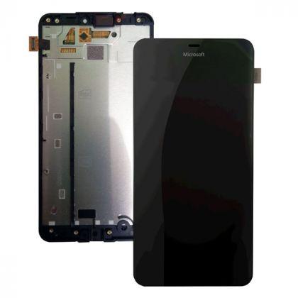 LCD/Display cu touchscreen Microsoft 640 XL negru