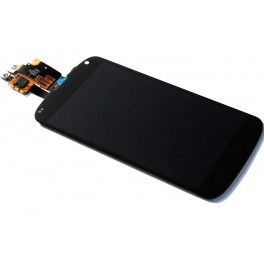 LCD/Display cu touchscreen LG Google Nexus 4 E960 negru