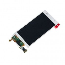 LCD/Display cu touchscreen Huawei Ascend P6 alb