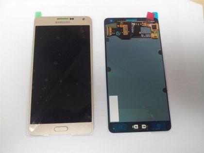 LCD/Display cu touchscreen Samsung A7(A7000 FN)auriu