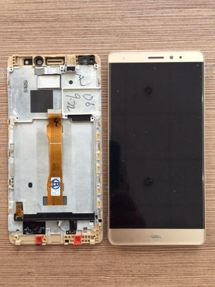 LCD/Display cu touchscreen Huawei Mate S Gold cu rama