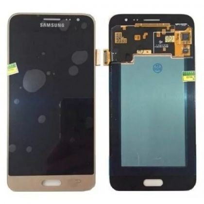 LCD/Display cu touchscreen Samsung J3(J320)2016 auriu