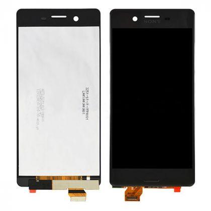 LCD/Display cu touchscreen Sony Xperia X negru