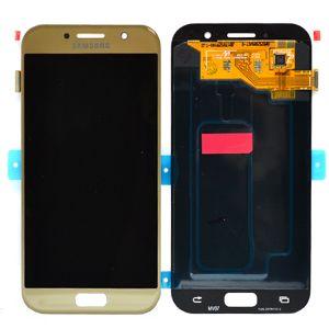 LCD/Display cu touchscreen Samsung A5(A520)2017 auriu