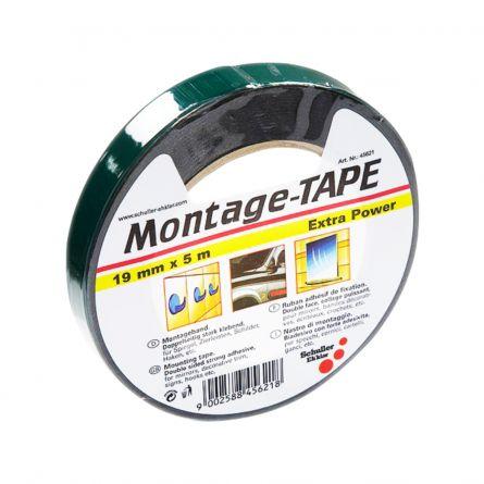 Bandă dublu adezivă, montage tape, extra power