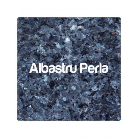 Blat Granit Albastru Perla, decupaj dreptunghiular