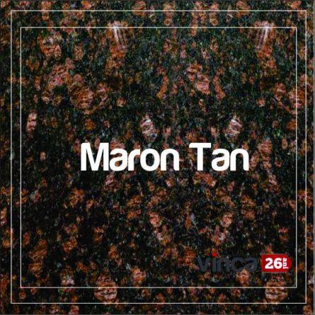 Blat Granit Maron Tan,  decupaj rotund