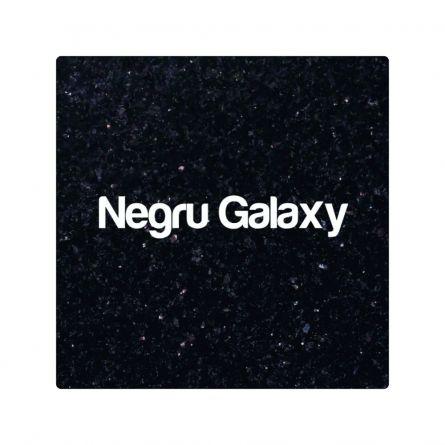Blat Granit Negru Galaxy, decupaj rotund