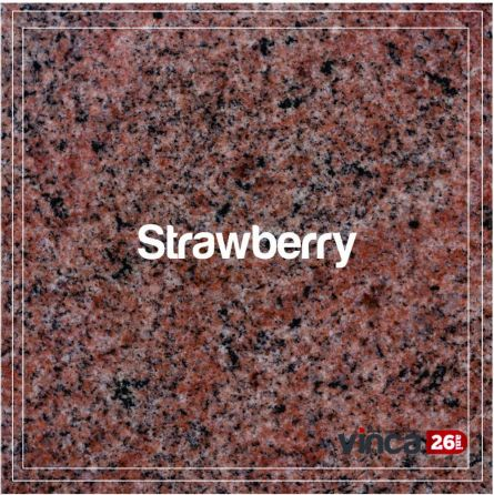Blat Granit Strawberry Pink, decupaj patrat