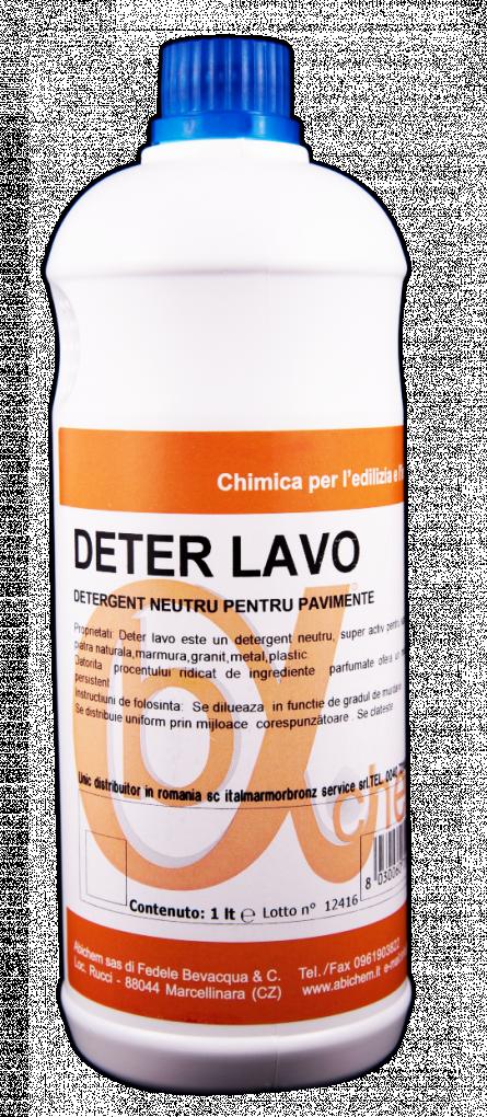 Detergent curatare marmura si granit Deter Lavo