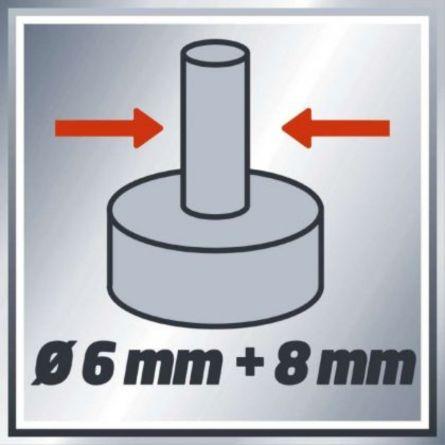 Freză electrică Einhell, TH-RO 1100 E, 1100 W, 230 – 240 V ~ 50 Hz
