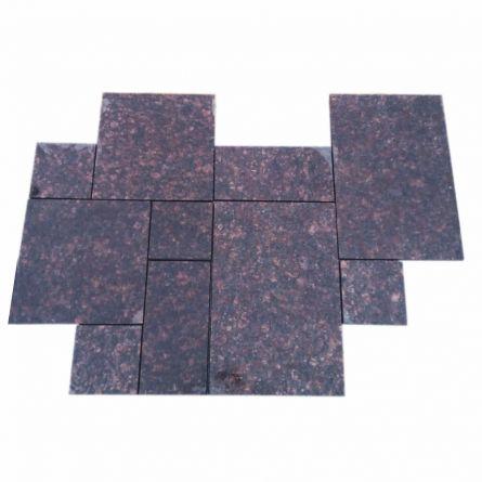 Granit Maron Tan French Pattern 2cm