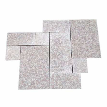 Granit Peach red fiamat  French Pattern 2cm