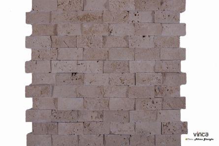 Mozaic Travertin Classic Scapitat 30*27.5cm